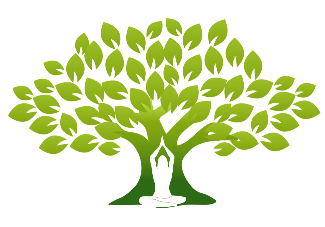 Vector_Green Tree with Yoga Man [Converted]